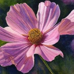 Пазл онлайн: Розовый цветок