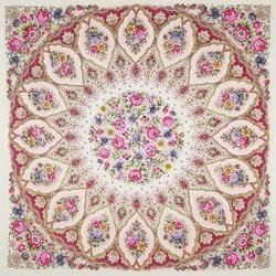 Пазл онлайн: Снежинки и цветы