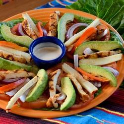 Пазл онлайн: Салат с авокадо