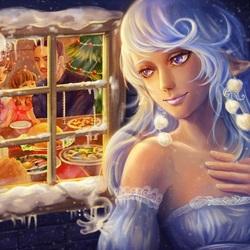 Пазл онлайн: А за окном - Зима