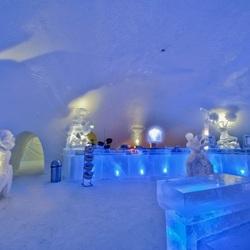 Пазл онлайн: Сказочный ледяной замок