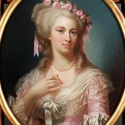 Пазл онлайн: Женщина с жемчужным ожерельем
