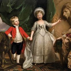 Пазл онлайн: Принц Уильям и принцесса София