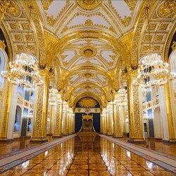 Пазл онлайн:  Большой Кремлевский дворец
