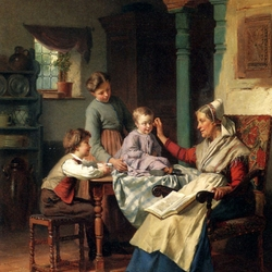 Пазл онлайн: А я как бабушка