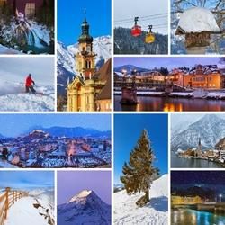 Пазл онлайн: Австрия зимой