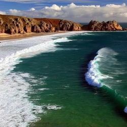Пазл онлайн: Пена у берега моря