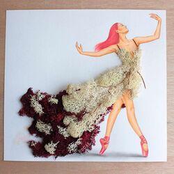Пазл онлайн: Платье из водорослей