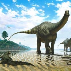 Пазл онлайн: Доисторические ящеры