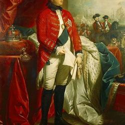 Пазл онлайн: Король Великобритании Георг III