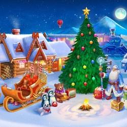 Пазл онлайн: Встретим вместе Новый год!