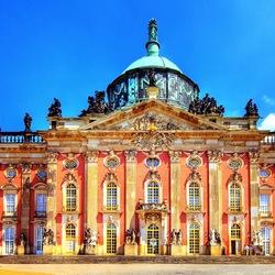 Пазл онлайн: Новый дворец в Потсдаме
