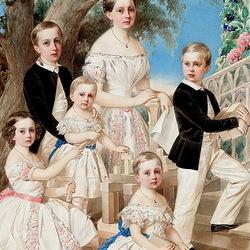 Пазл онлайн: Дети герцога Лейхтенбергского