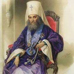 Пазл онлайн: Портрет митрополита Филарета