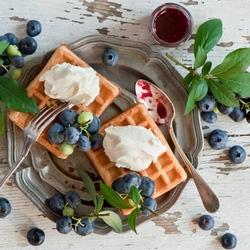 Пазл онлайн: Венские вафли