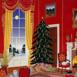 Пазл онлайн: Рождество в Белом доме