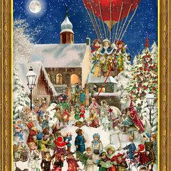 Пазл онлайн: Санта на коне