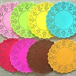 Пазл онлайн: Цветные салфетки