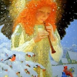 Пазл онлайн: Мелодия ангела