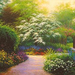 Пазл онлайн: Дивный сад