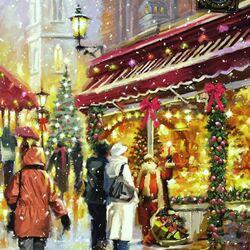 Пазл онлайн: Праздничний город