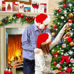 Пазл онлайн: Незабываемое Рождество