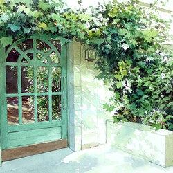 Пазл онлайн: Дверь в лето