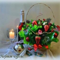 Пазл онлайн: Новогодний этюд