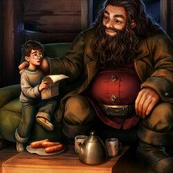 Пазл онлайн: Гарри, ты - волшебник!