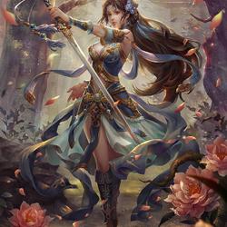 Пазл онлайн: Чудесная воительница