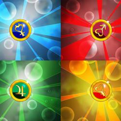 Пазл онлайн: Символы сути