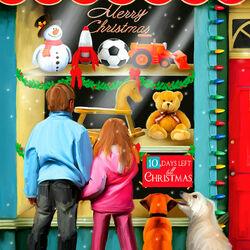 Пазл онлайн: 10 дней до Рождества