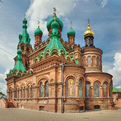 Пазл онлайн: Свято-Троицкий собор в Краснодаре