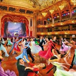 Пазл онлайн: Бальные танцы