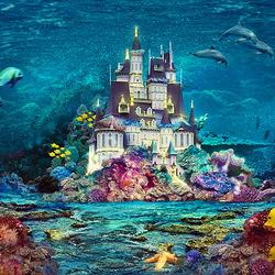 Пазл онлайн: Подводный мир