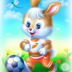 Пазл онлайн: Футболист