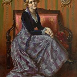 Пазл онлайн: Портрет женщины