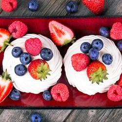 Пазл онлайн: Десерт