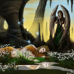 Пазл онлайн: Эхо и Нарцисс