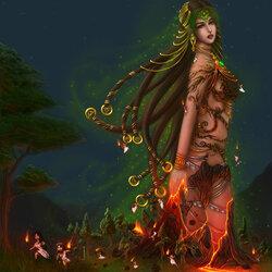 Пазл онлайн: Гея - мать земли