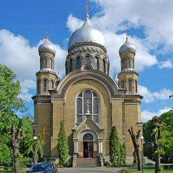 Пазл онлайн: Рижский Свято-Троицкий собор