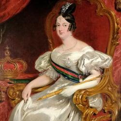 Пазл онлайн: Королева Португалии Мария II