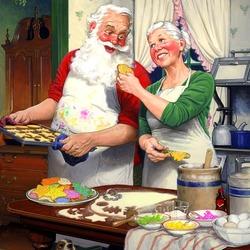 Пазл онлайн: Рождественские печенья