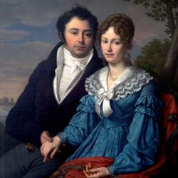 Пазл онлайн: Генрих Теодор Вильгельм и Катарина Якобина Зандерс