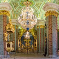Пазл онлайн: Петропавловский собор