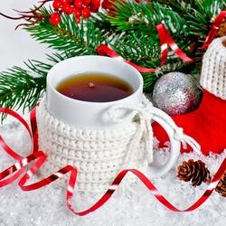 Пазл онлайн: Кружечка чая