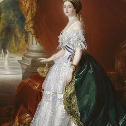 Пазл онлайн: Евгения Монтихо императрица Франции