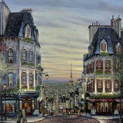 Пазл онлайн: Романтика Парижа