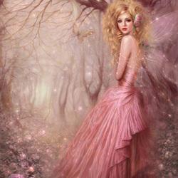 Пазл онлайн: Нежная фея