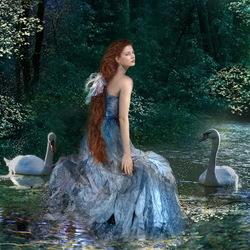 Пазл онлайн: Лебединая песня